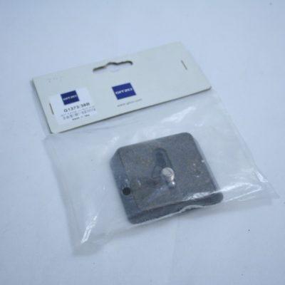 Gitzo G1373/38B Stativplatte inkl Kameraschraube NEU