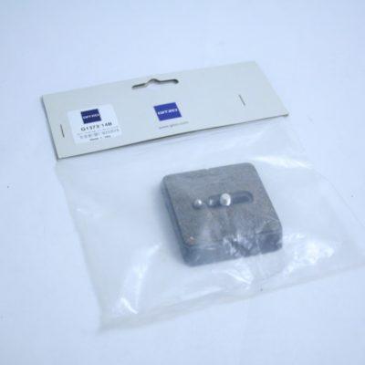 Gitzo G1373/14B Stativplatte inkl Kameraschraube NEU
