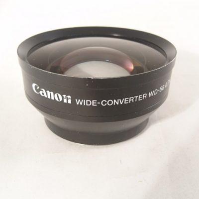 Canon Weitwinkel Konverter WD-58 0.7x