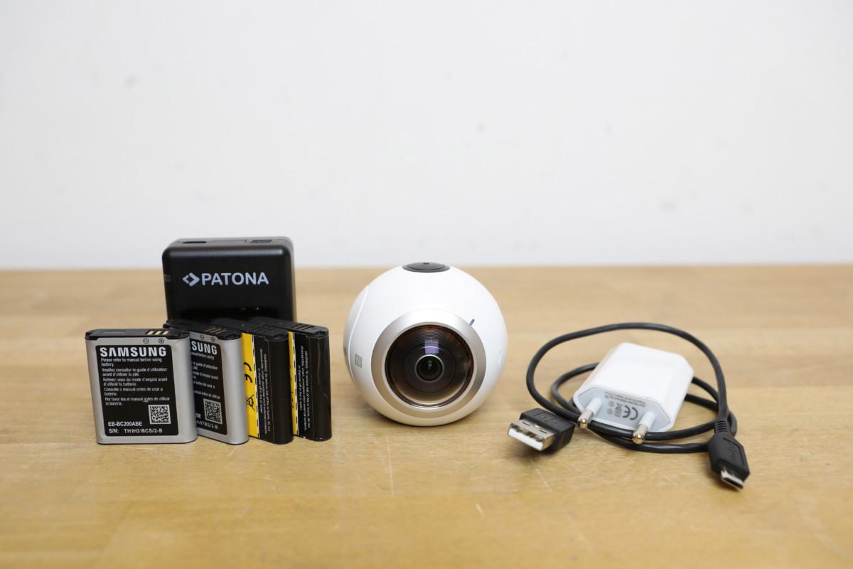 Samsung Gear 360 Inkl Zubehörpaket Gebrauchte Filmtechnik 25p