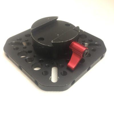 GoCAD Ronin Cheeseplate / Mounting Plate – Gimbel an Kran oder Car Rig befestigen