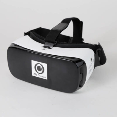 Samsung Gear VR Oculus Brille weiß