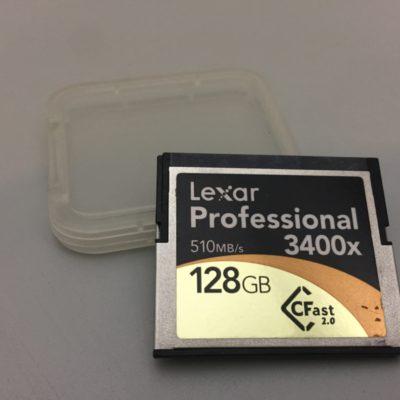 Lexar Professional 128GB CF Card 3400x 2.0 510MB/s