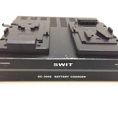 Original SWIT SC-304S 2 fach V-mount Ladegerät