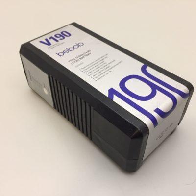 BEBOB V-Mount – Akku V190 13,0Ah / 14,8V Li-ion-Battery