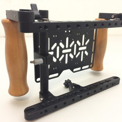 Wooden Camera v2 Regie Vorschaumonitor Cage – Halterung universal