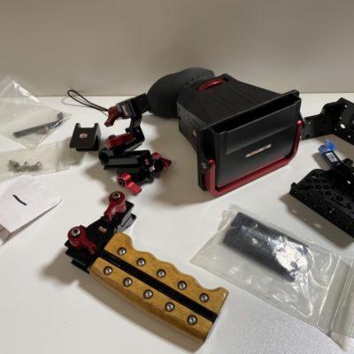 ZACUTO Z-Finder für Canon C300/500 inkl. Zubehörpaket und Tophandle