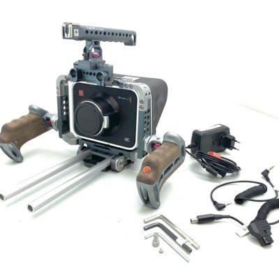 BLACKMAGIC Production Camera 4k EF Mount inkl. TILTA Cage und Zubehörpaket