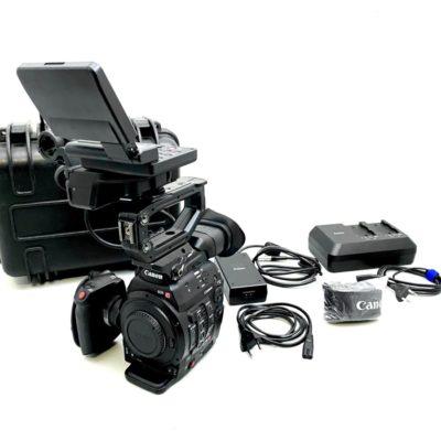 CANON EOS C300 MarkII Camcorder EF-Mount inkl. Koffer und Zubehörpaket